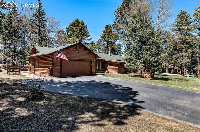 750 Log Haven Drive, Woodland Park, CO 80863 (#4647123) :: Finch & Gable Real Estate Co.