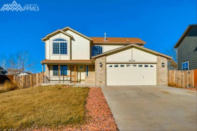8228 Firethorn Drive, Colorado Springs, CO 80925 (#4648079) :: The Hunstiger Team