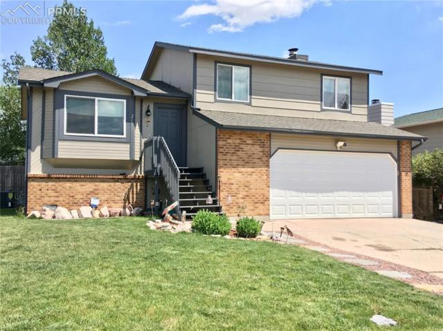 2155 Heathercrest Drive, Colorado Springs, CO 80915 (#4750735) :: The Hunstiger Team