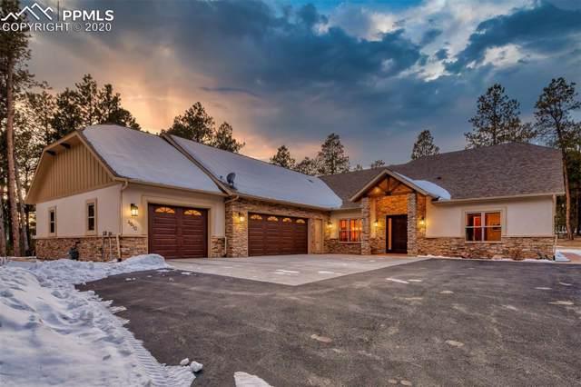 4810 Hidden Rock Road, Colorado Springs, CO 80908 (#4802537) :: The Hunstiger Team