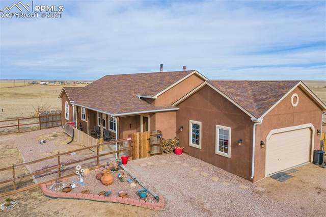 31790 Sanborn Road, Yoder, CO 80864 (#4824100) :: Tommy Daly Home Team
