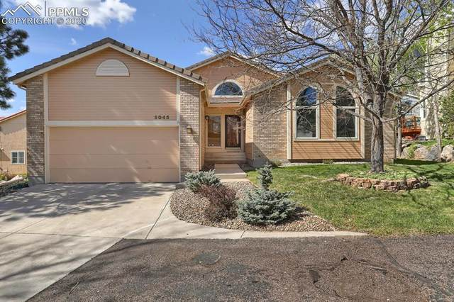 5045 Broadmoor Bluffs Drive, Colorado Springs, CO 80906 (#4827352) :: The Kibler Group