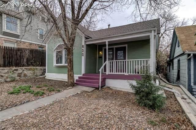620 W Kiowa Street, Colorado Springs, CO 80905 (#4833007) :: The Daniels Team