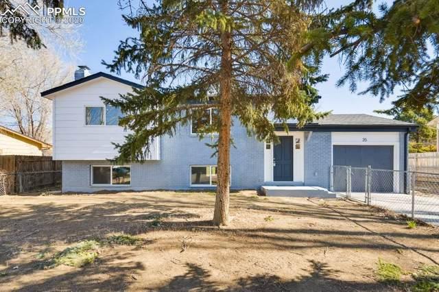35 Bella Vista Lane, Colorado Springs, CO 80911 (#4840742) :: Tommy Daly Home Team