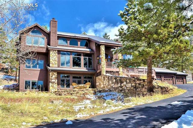 580 Sunny Glen Court, Woodland Park, CO 80863 (#4848616) :: The Daniels Team