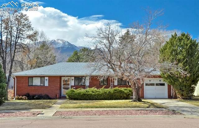 660 Glen Eyrie Circle, Colorado Springs, CO 80904 (#4865429) :: The Treasure Davis Team