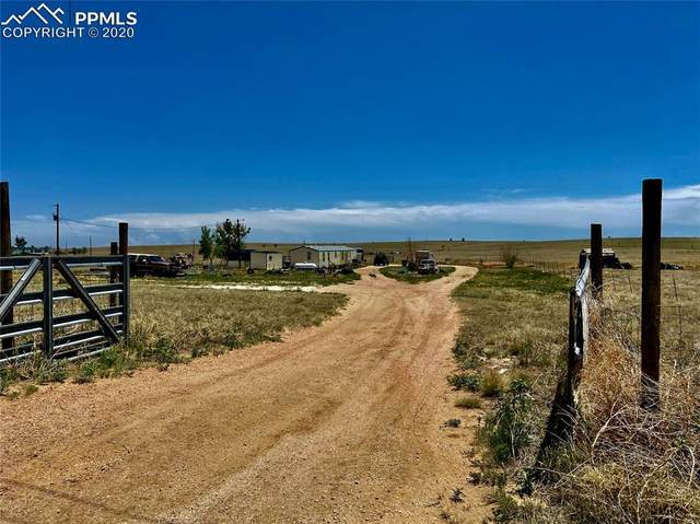 35525 Fossinger Road, Yoder, CO 80864 (#4870675) :: Action Team Realty