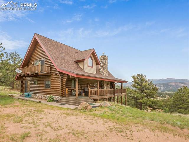 131 Eagleview Circle, Florissant, CO 80816 (#4877867) :: The Treasure Davis Team