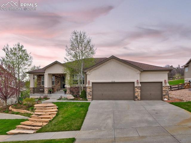 752 Coyote Willow Drive, Colorado Springs, CO 80921 (#4890143) :: The Peak Properties Group