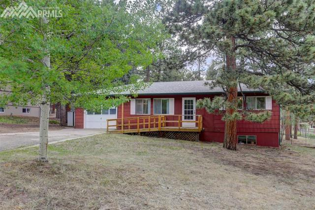 1010 W Lafayette Avenue, Woodland Park, CO 80863 (#4920805) :: The Treasure Davis Team