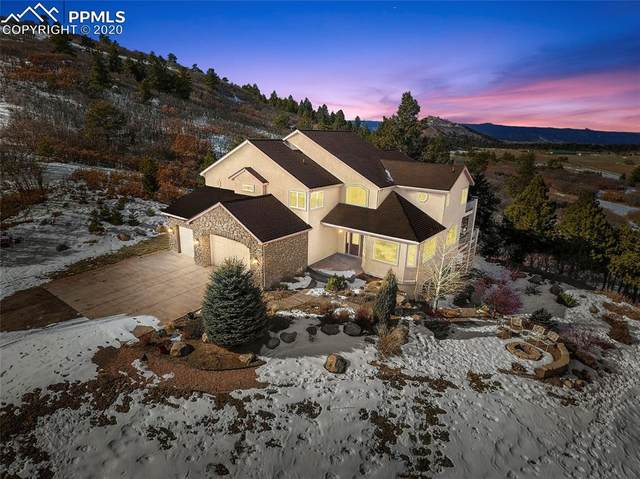 14232 Straight Path Lane, Larkspur, CO 80118 (#4922807) :: Tommy Daly Home Team