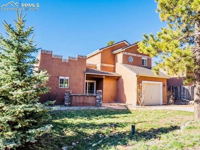 245 Corso, Palmer Lake, CO 80133 (#4926642) :: The Hunstiger Team