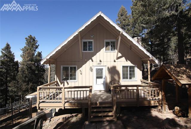 377 Ridge Road, Divide, CO 80814 (#4936381) :: The Peak Properties Group