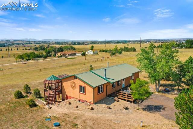 5530 Good Fortune Road, Peyton, CO 80831 (#4944757) :: Tommy Daly Home Team