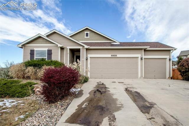 4420 Round Hill Drive, Colorado Springs, CO 80922 (#4945070) :: The Kibler Group