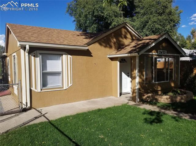 2432 E St Vrain Street, Colorado Springs, CO 80909 (#4998500) :: Colorado Home Finder Realty