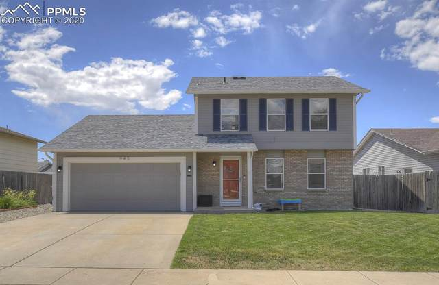 945 Crandall Drive, Colorado Springs, CO 80911 (#5001949) :: Tommy Daly Home Team