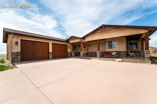 4122 Peyton Highway, Peyton, CO 80831 (#5006588) :: Finch & Gable Real Estate Co.