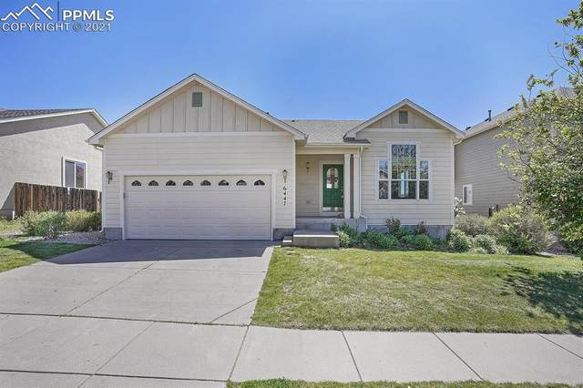 6447 Crystal Mountain Road, Colorado Springs, CO 80923 (#5013674) :: Fisk Team, RE/MAX Properties, Inc.