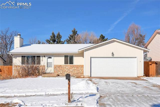 2370 Cather Circle, Colorado Springs, CO 80916 (#5014705) :: The Dixon Group