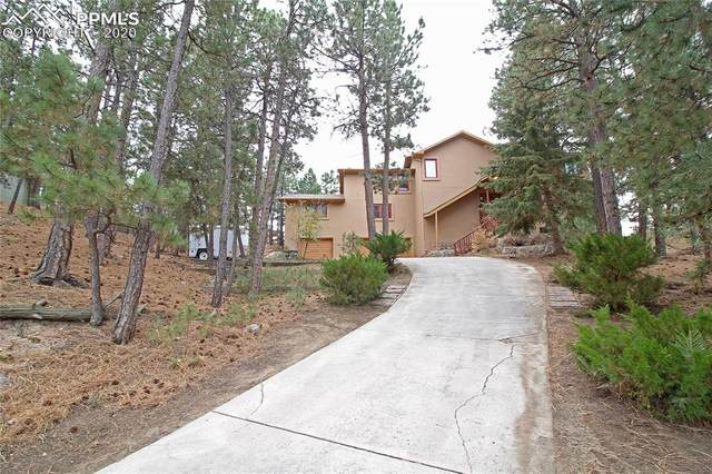 1045 Pleasant View Lane, Colorado Springs, CO 80921 (#5057006) :: The Treasure Davis Team