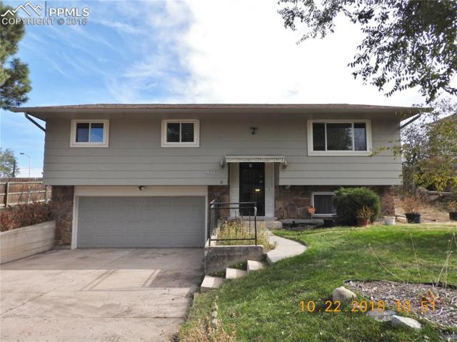 931 Potter Drive, Colorado Springs, CO 80909 (#5058763) :: The Hunstiger Team