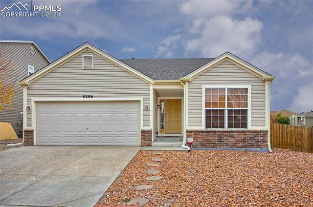 8206 Silver Glen Drive, Fountain, CO 80817 (#5066326) :: The Kibler Group