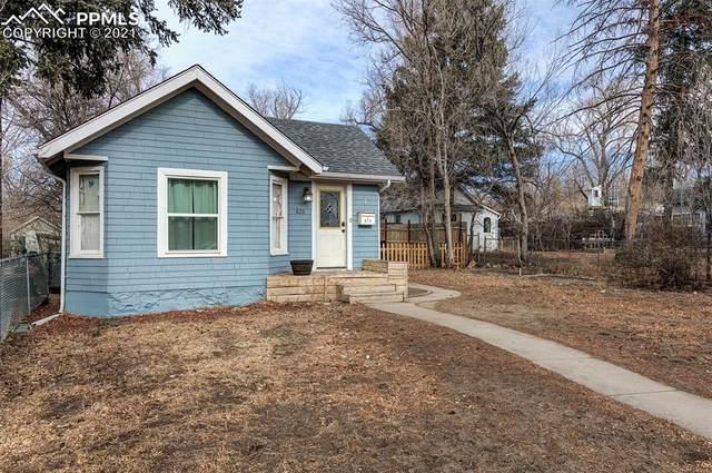 826 E Moreno Avenue, Colorado Springs, CO 80903 (#5066688) :: The Dixon Group