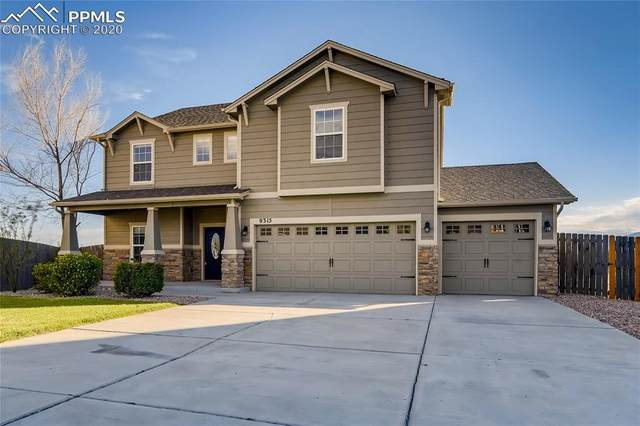 9315 Sand Myrtle Drive, Colorado Springs, CO 80925 (#5075666) :: Tommy Daly Home Team