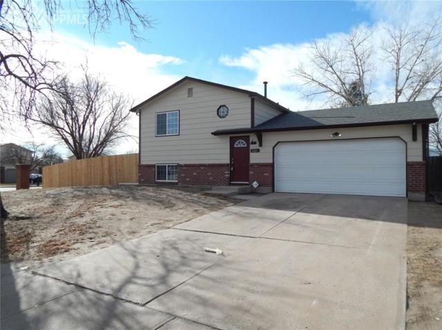 1001 Keith Drive, Colorado Springs, CO 80916 (#5099245) :: The Peak Properties Group