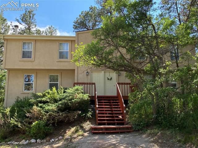 1495 Spring Valley Drive, Colorado Springs, CO 80921 (#5137352) :: Finch & Gable Real Estate Co.