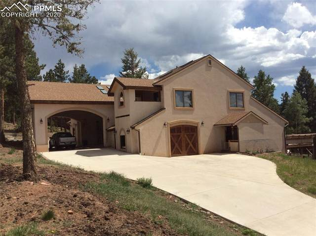 980 Char Lane, Woodland Park, CO 80863 (#5158624) :: Colorado Home Finder Realty
