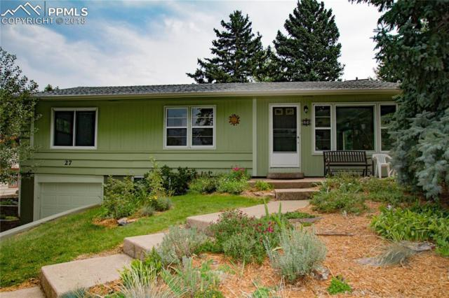 27 El Sereno Drive, Colorado Springs, CO 80906 (#5166452) :: Fisk Team, RE/MAX Properties, Inc.