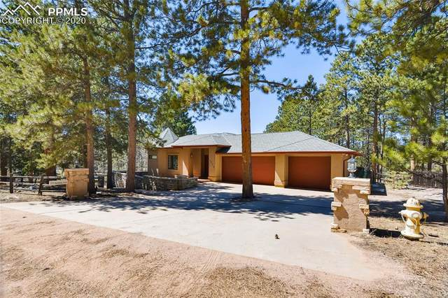 1775 Sunshine Circle, Woodland Park, CO 80863 (#5173292) :: Finch & Gable Real Estate Co.