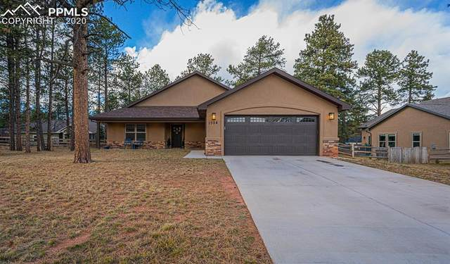1354 Ridgestone Drive, Woodland Park, CO 80863 (#5181565) :: Finch & Gable Real Estate Co.