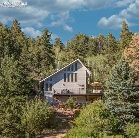 2033 Rampart Range Road, Woodland Park, CO 80863 (#5185150) :: Tommy Daly Home Team