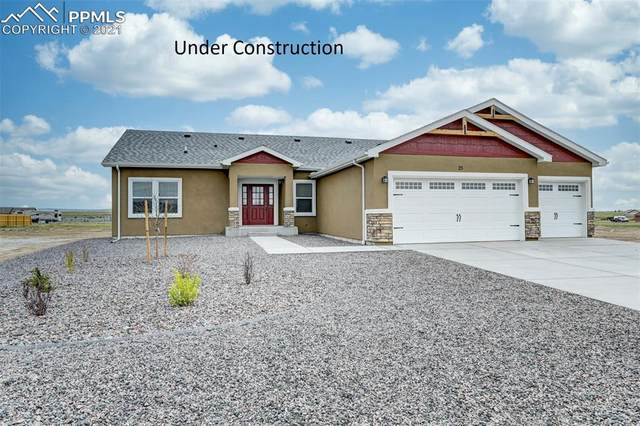 1582 E Blue Mesa Lane, Pueblo West, CO 81007 (#5193934) :: The Dixon Group