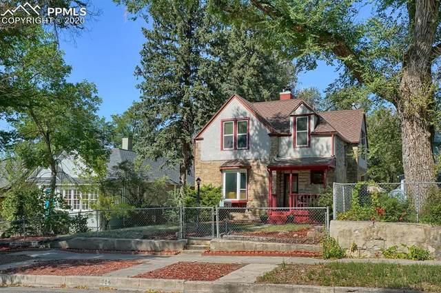 714 E High Street, Colorado Springs, CO 80903 (#5200712) :: 8z Real Estate