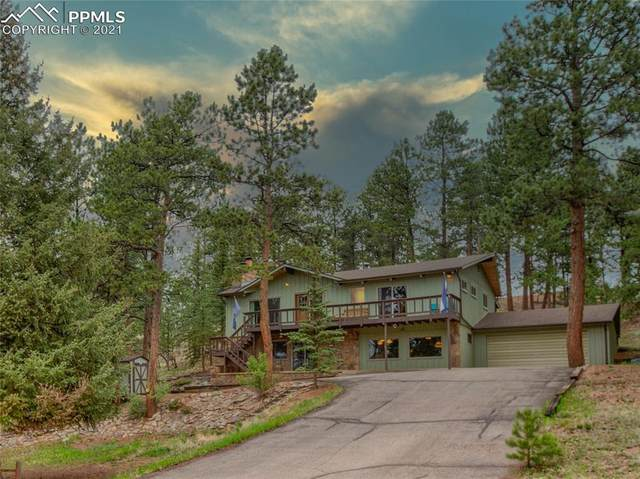 120 Ute Trail, Woodland Park, CO 80863 (#5205747) :: Fisk Team, RE/MAX Properties, Inc.