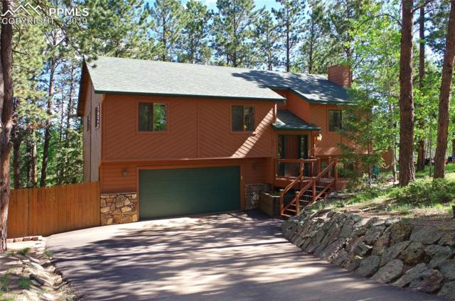 105 Still Forest Lane, Woodland Park, CO 80863 (#5207628) :: The Dixon Group