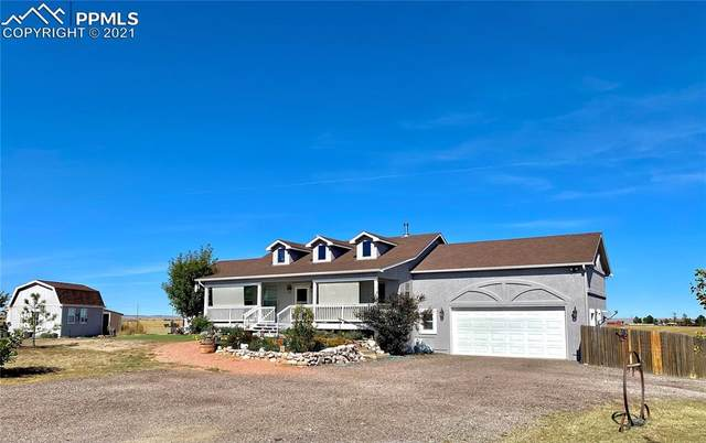 16330 Stage Stop Road, Peyton, CO 80831 (#5242635) :: The Dixon Group