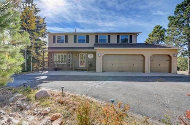 17990 Bakers Farm Road, Colorado Springs, CO 80908 (#5250660) :: The Kibler Group