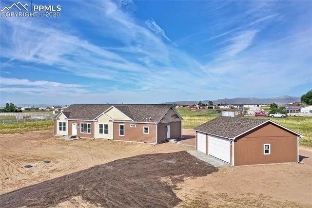 22052 Fritz Way, Calhan, CO 80808 (#5274339) :: Fisk Team, RE/MAX Properties, Inc.
