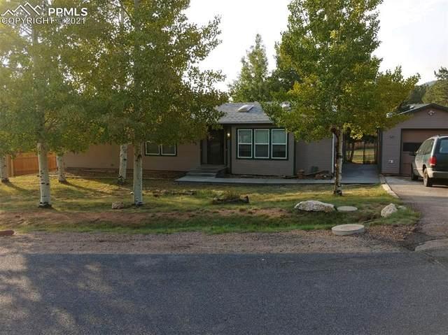 1315 Thomas Circle, Woodland Park, CO 80863 (#5286220) :: Finch & Gable Real Estate Co.