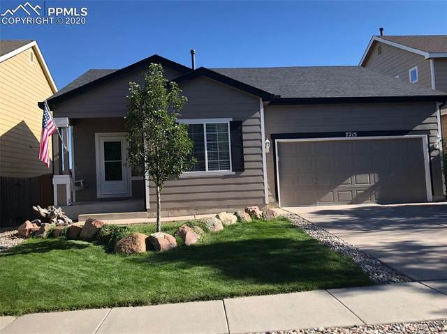 7215 Amber Ridge Drive, Colorado Springs, CO 80922 (#5291925) :: The Treasure Davis Team