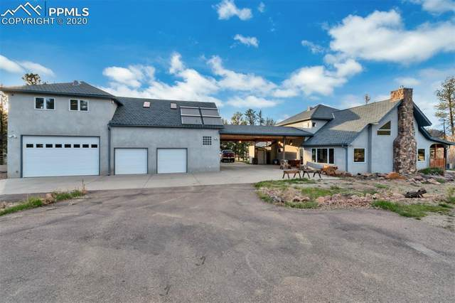 25 County Road 112, Florissant, CO 80816 (#5299169) :: The Kibler Group