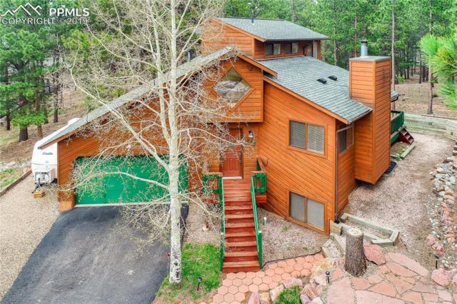777 Pinon Ridge Drive, Woodland Park, CO 80863 (#5316670) :: The Peak Properties Group