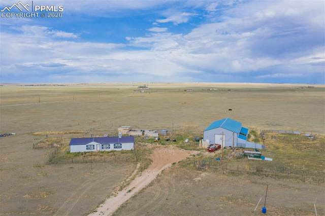 1715 S Calhan Highway, Yoder, CO 80864 (#5317001) :: The Treasure Davis Team