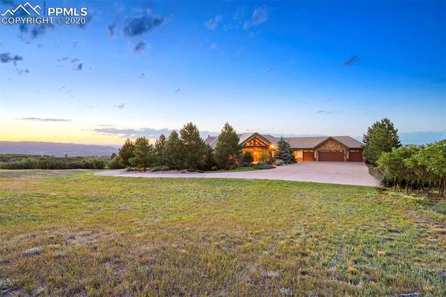 2530 Castle Butte Drive, Castle Rock, CO 80109 (#5324859) :: The Daniels Team