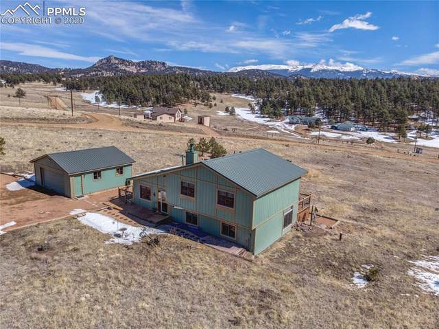 558 N Deer Mountain Road, Florissant, CO 80816 (#5344092) :: Finch & Gable Real Estate Co.